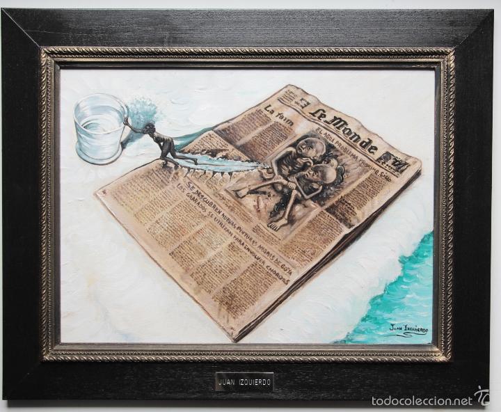 NOTICIAS-JUAN IZQUIERDO (Arte - Pintura - Pintura al Óleo Contemporánea )
