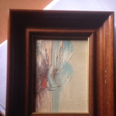 Arte: 3 CUADROS OLEO SOBRE TABLA. Lote 56313392