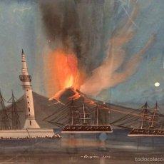 Arte: TITULADO ERUZIONE-FIRMADO-FECHADO 1.822. Lote 56320077