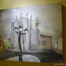 Arte: GRAN CUADRO ORIGINAL FIRMADO ARTE ECLÉCTICO CARRIÓN DE LOS CONDES. Lote 56400161