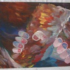 Arte: CUADRO ORIGINAL FIRMADO ARTE ECLÉCTICO. Lote 56400226