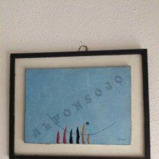 Arte: VICTOR MIRA CUADRO PINTURA ÓLEO/LIENZO AÑO 1969. Lote 56491647