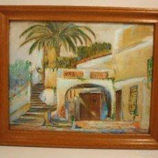 Arte: OLEO SOBRE TELA FIRMADO F. SANTIGOSA (AÑOS 40). Lote 56497027