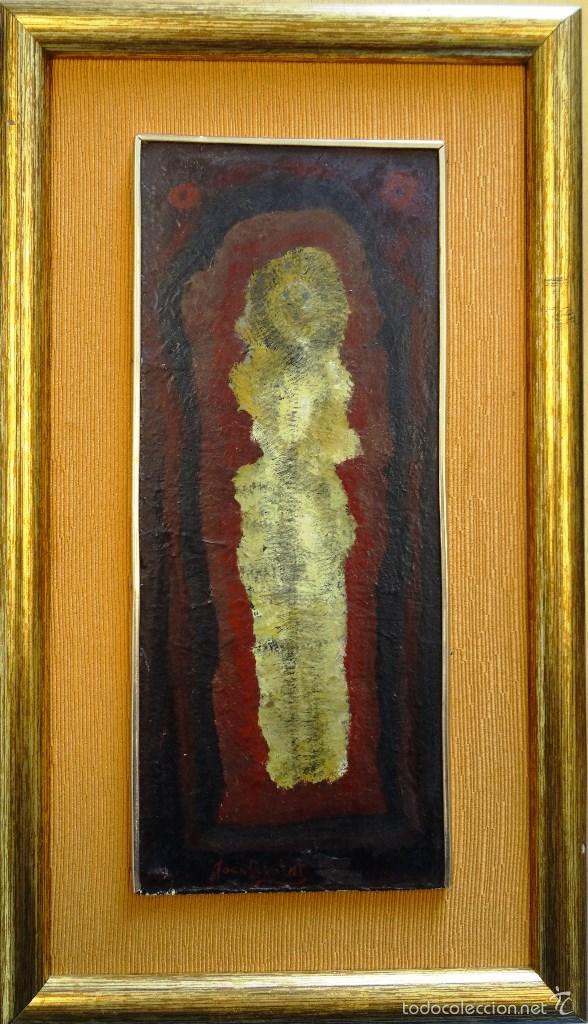 JOAN BROTAT (BARCELONA 1920 - 1990). (Arte - Pintura - Pintura al Óleo Contemporánea )