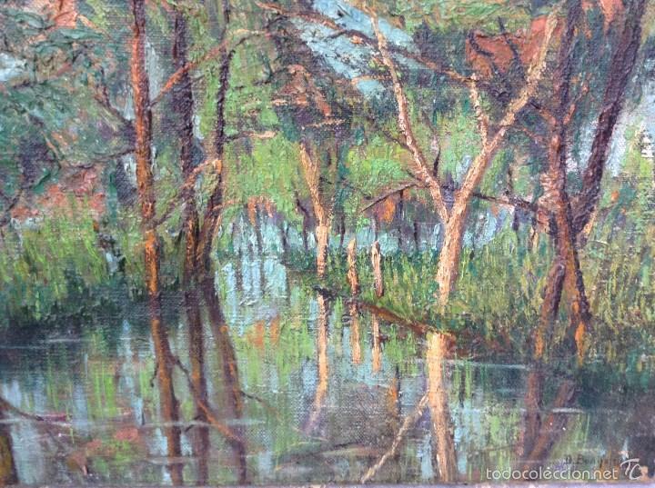 Arte: Decoroso BONIFANTI (1860-1941) Pintor Italiano - Óleo sobre tela - Foto 3 - 56602875