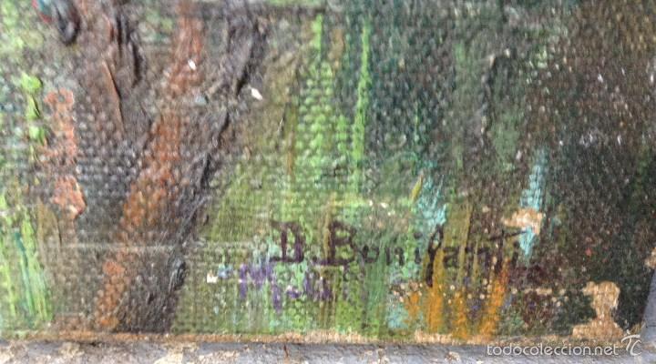 Arte: Decoroso BONIFANTI (1860-1941) Pintor Italiano - Óleo sobre tela - Foto 4 - 56602875
