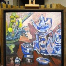 Arte: MIGUEL ZELADA (CORUÑA 1942). JUEGO DE CAFE.. Lote 56645345