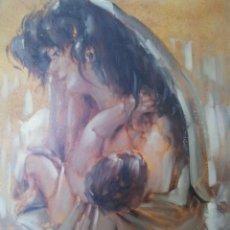 Arte: PINTURA AL OLEO SOBRE TABLA. Lote 56647983
