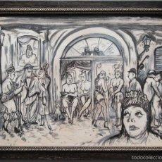 Arte: CASA DE CITAS - ESCALA DE GRISES. Lote 140160888