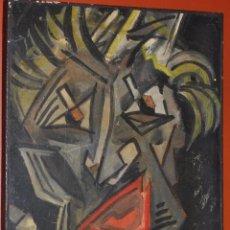 Arte: OLEO EXPRESIONISTA SOBRE TABLA , OBRA SIN FIRMAR ,. Lote 56873138