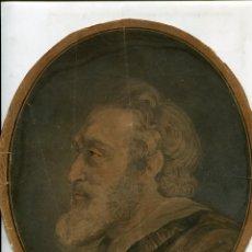 Arte: RETRATO, LITOGRAFIA POR JEAN FRANÇOIS JANINET (1752-1814). Lote 56943932