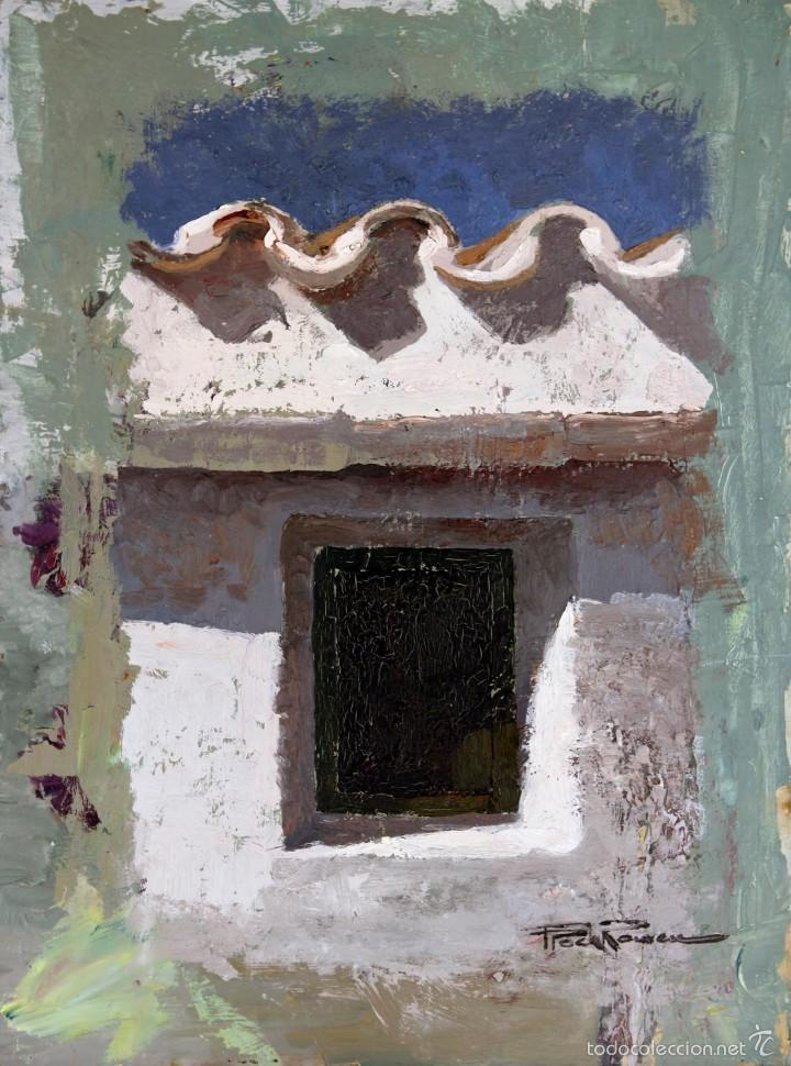 FRANCESC POCH ROMEU, ÓLEO SOBRE TABLA 29X39CM (Arte - Pintura - Pintura al Óleo Contemporánea )
