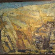 Arte: OLEO SOBRE TELA DE SIMO BUSOM GRAU. Lote 57007518