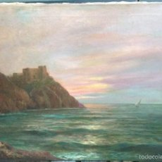 Arte: RICARDO VERDUGO LANDI (1871-1930) PINTOR ESPAÑOL - ÓLEO SOBRE TELA. Lote 57086337