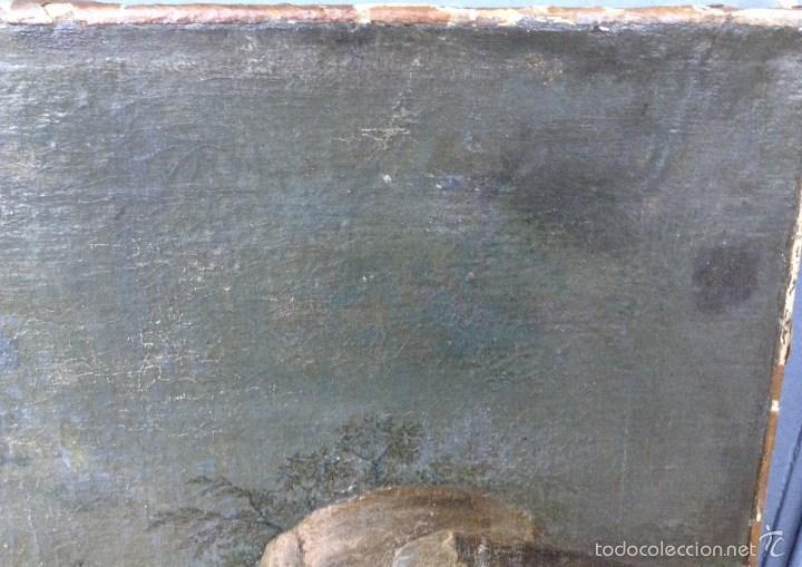 Arte: Europeo XVIII (firma monograma) - Óleo sobre tela (reentelado) - Foto 4 - 57088242