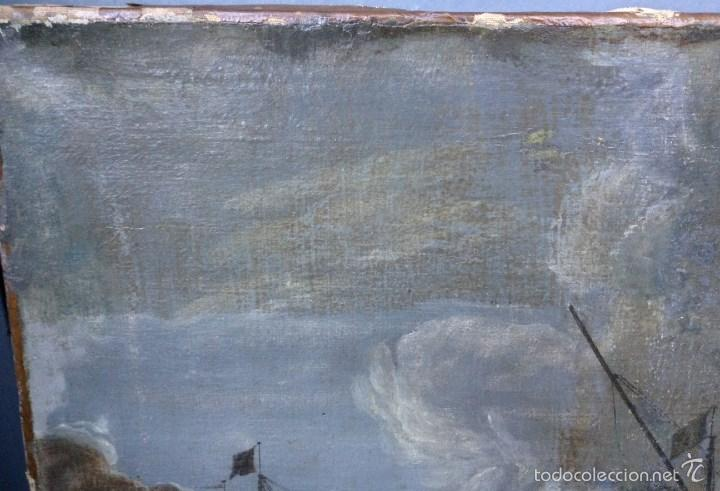 Arte: Europeo XVIII (firma monograma) - Óleo sobre tela (reentelado) - Foto 5 - 57088242