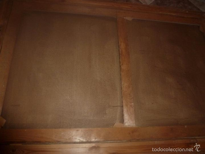Arte: oleo sobre lienzo escena de caza - Foto 14 - 57088735