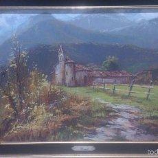 Arte: OLEO SOBRE LIENZO, BASTIDOR Y MARCO ORIGINAL, FIRMADO BORRELL.. Lote 57123666