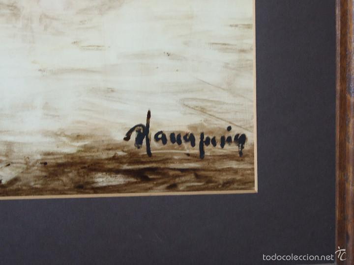 Arte: PERE PLANA PUIG OLEO SOBRE TABLA - Foto 4 - 57130788