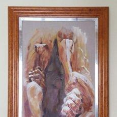 Arte: ÓLEO SOBRE BASTIDOR, TITULADO RENACER. Lote 53780735