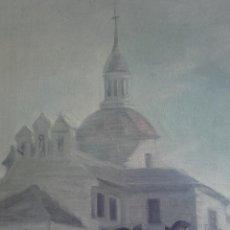 Arte: SAN ANTONIO DE LA FLORIDA - 45 X 47 CMS - OLEO SOBRE LIENZO - SAN ANTONIO FLORIDA. Lote 27135395