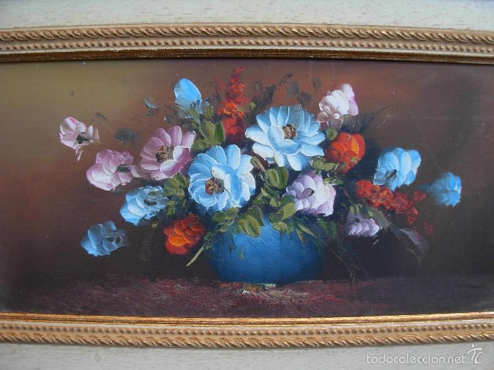 Arte: Bonito cuadro al óleo sobre tabléx. Precioso enmarcado - Foto 3 - 57195802