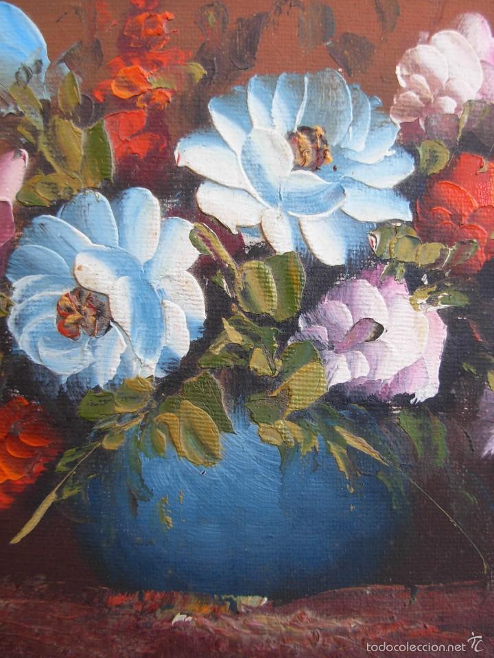 Arte: Bonito cuadro al óleo sobre tabléx. Precioso enmarcado - Foto 4 - 57195802