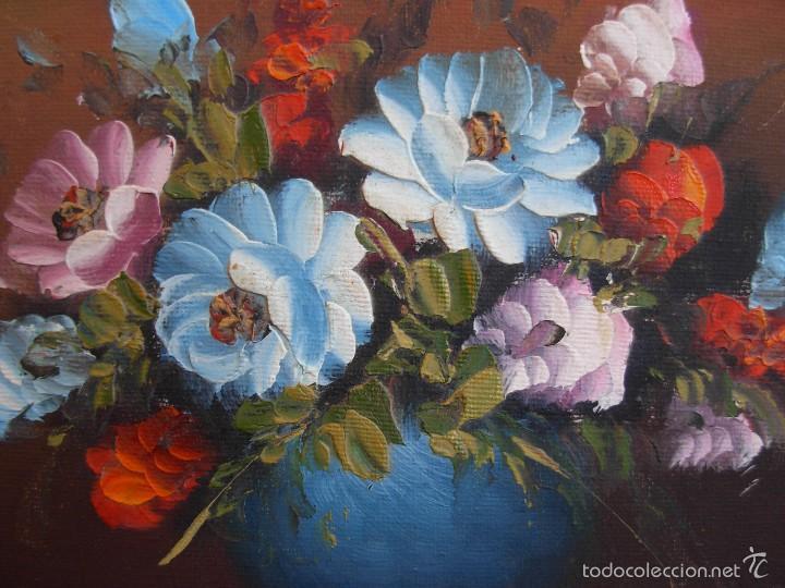 Arte: Bonito cuadro al óleo sobre tabléx. Precioso enmarcado - Foto 5 - 57195802