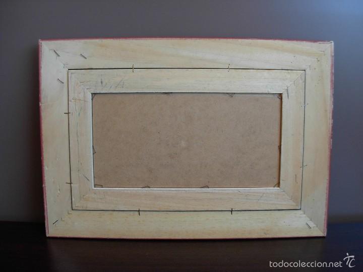 Arte: Bonito cuadro al óleo sobre tabléx. Precioso enmarcado - Foto 7 - 57195802