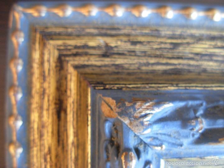 Arte: Bonito cuadro al óleo sobre tabléx. Precioso enmarcado - Foto 8 - 57195802