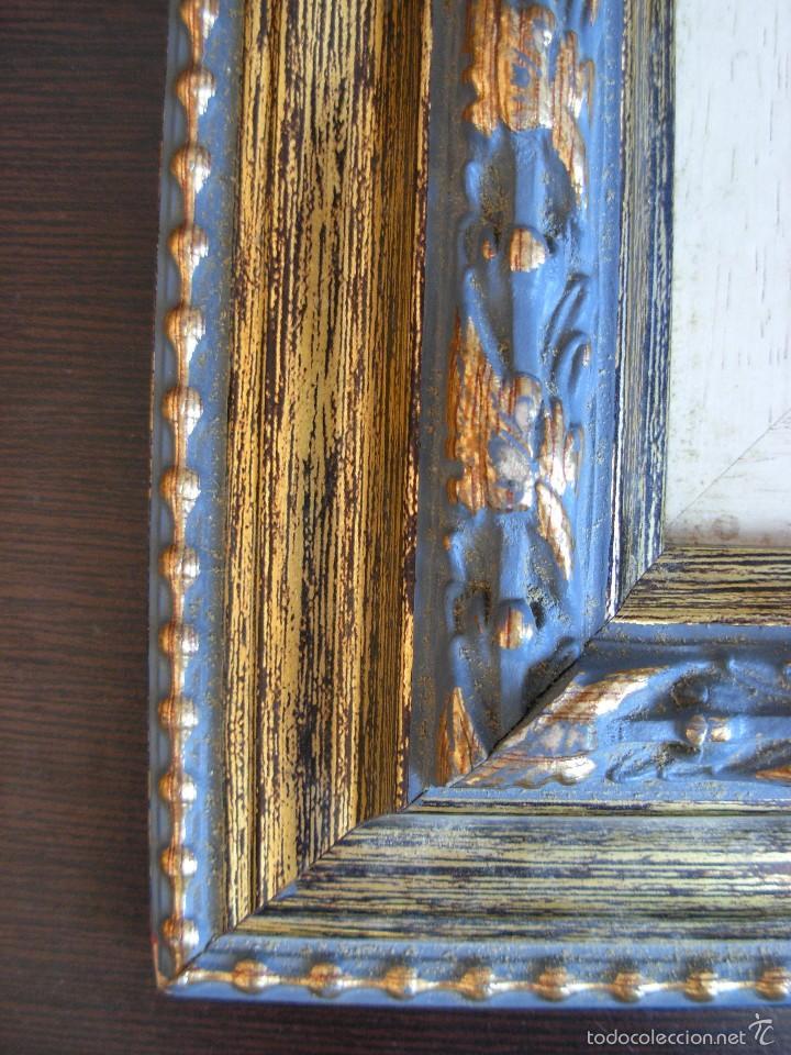 Arte: Bonito cuadro al óleo sobre tabléx. Precioso enmarcado - Foto 9 - 57195802
