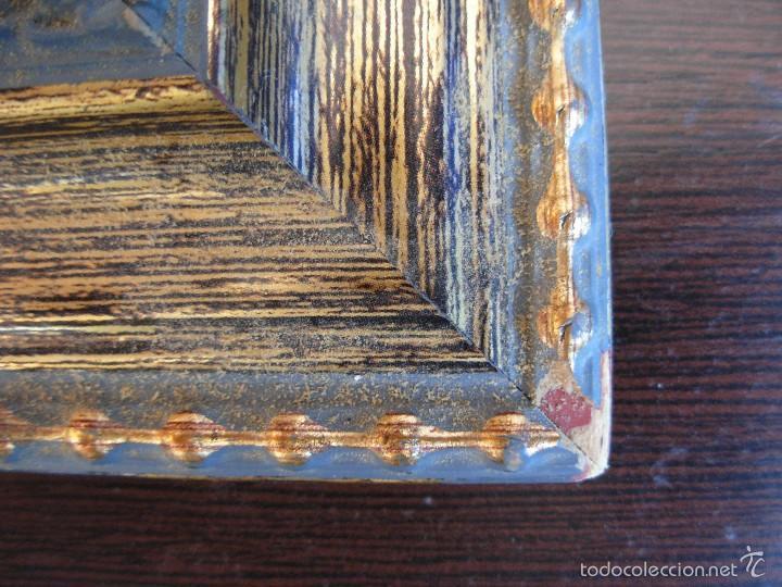 Arte: Bonito cuadro al óleo sobre tabléx. Precioso enmarcado - Foto 10 - 57195802