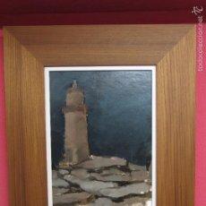 Arte: XOAN GUERREIRO. (XOVE 1956) FARO DE MUXIA.. Lote 57224800