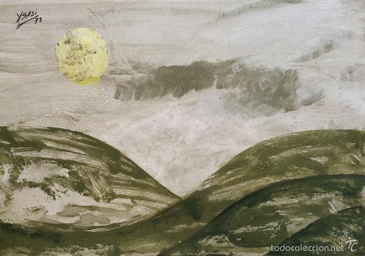 RICARDO ISASI. YSASI (1917) (Arte - Pintura - Pintura al Óleo Contemporánea )