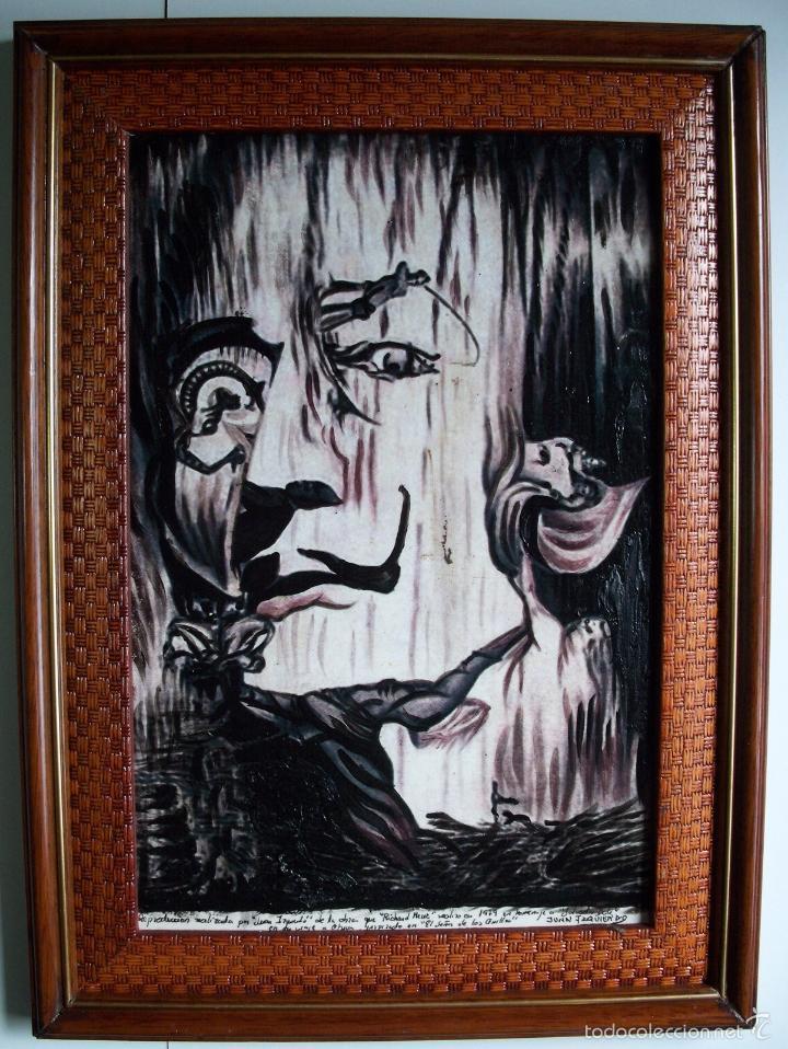 JUAN IZQUIERDO-ILUSION DALI (Arte - Pintura - Pintura al Óleo Contemporánea )