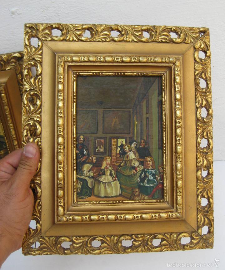 precioso cuadro pintura oleo sobre tabla marco - Comprar Pintura al ...