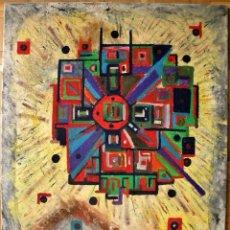 Kunst - BELLISIMA OBRA ABSTRACTO/EXPRESIONISTA OLEO/ACRILICO/LIENZO FIRMADA NATKIN 100X80 CMS - 37552720