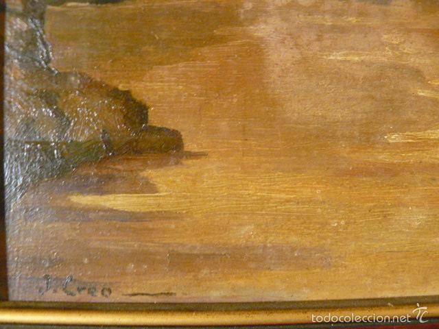 Arte: OLEO SOBRE TABLA DE J. CRIO - Foto 4 - 57426657