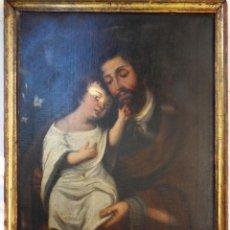 Arte: SAN JOSÉ CON EL NIÑO JESÚS. REF.106. Lote 57535159