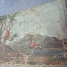 Arte: ANTIGUO OLEO SOBRE LIENZO AVES EXÓTICAS - SIGLO XVIII - FIRMADO - 61 X 40 CM - SOBRE BASTIDOR -. Lote 57544804
