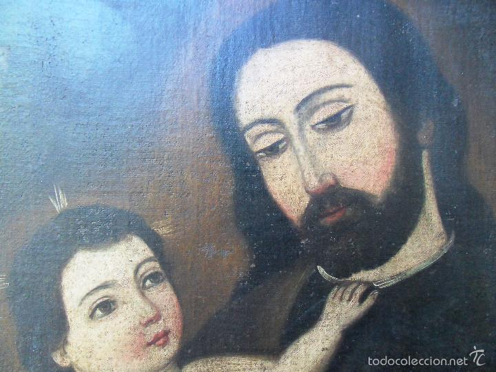 Arte: San José con el niño Jesús. ref. AB 261 - Foto 2 - 57551974