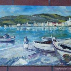 Arte: ÓLEO SOBRE TABLA.1982.. Lote 57565202
