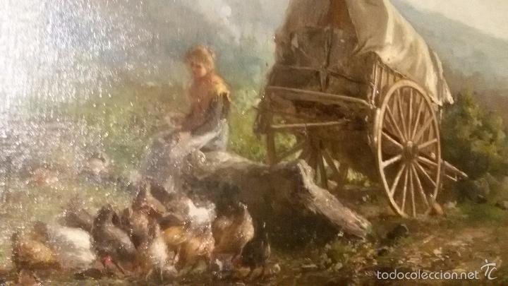 Arte: * OLEO ORIGINAL DE :JAUME PONS MARTÍ ( 1855-BARCELONA, 1930-GIRONA). ((Rf:G) - Foto 3 - 101795772