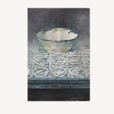 Arte: DOMINGO CORREA 'AZULEJOS I DE 2016' ÓLEO SOBRE TABLA. 35 X 23,5 CM.. Lote 57585796