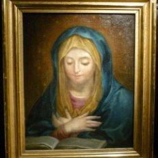 Arte: Nª SRA. DE LA ANUNCIACION POR ANTONIO RAFAEL MENGS (1728-79). Lote 74729342
