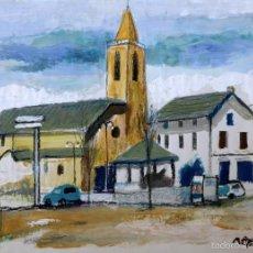 Arte: RAMÓN AGUILAR MORÉ, ÓLEO ORIGINAL. Lote 57820937