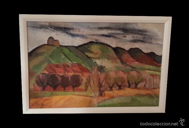 EUGENIO RINCÓN,BILBAO- BURGOS, 1969, VER BIOGRAFÍA. (Arte - Pintura - Pintura al Óleo Contemporánea )