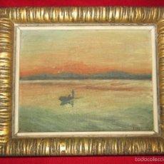 Arte: CUADRO AÑO 1952 . OLEO. MALLORCA.. Lote 57920567