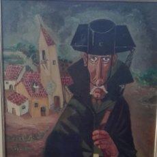 Arte: CUADRO DEL PINTOR EIZAGUIRRE 1980. Lote 57920940