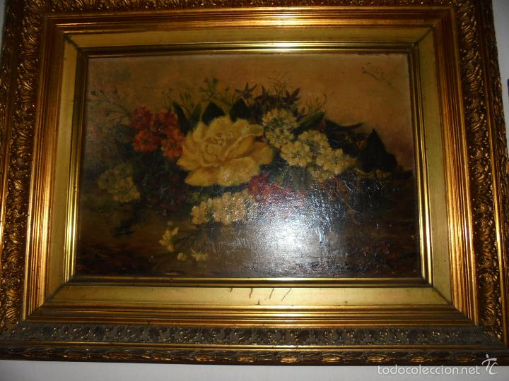 Arte: Bodegón de flores firmado, Revilla., - Foto 4 - 57932538